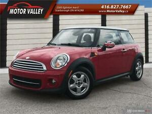 2011 MINI Cooper  Hardtop Classic 6MT No Accident Low KM