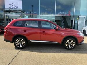 2018 Mitsubishi Outlander ZL MY19 ES AWD Red 6 Speed Constant Variable Wagon Fyshwick South Canberra Preview