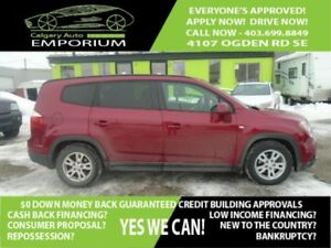 2012 Chevrolet Orlando 1LT *$28 DOWN EVERYONE APPROVED*