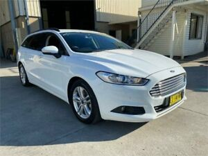 2016 Ford Mondeo MD Ambiente White 6 Speed Sports Automatic Dual Clutch Wagon Greystanes Parramatta Area Preview