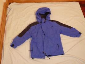 Crane Trail Blue Outdoor Coat Fleece Walking Camping - Size 6 Years