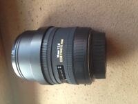 Sigma 10mm Fisheye Canon Mount APS-C