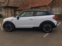 Mini Paceman - Great Condition... One Driver, Full Mini Service History include Pepper Pack