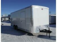 2016 - 8.5 X 20 ENCLOSED CARGO TRAILER - OUT THE DOOR PRICING!!
