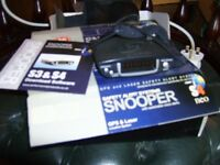 snooper s4 neo saftey alert system gps and laser in box complete vgc detects below