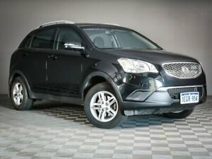 2013 Ssangyong Korando C200 S 2WD Black 6 Speed Automatic Wagon Maddington Gosnells Area Preview