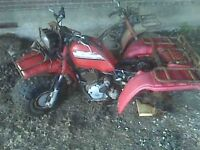 WANTED HONDA BIG RED 250ES