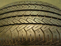 215/60R15 Set of 2 Fuzion Used (inst.bal.incl) 75% tread left