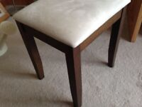 Wenge dressing table and stool