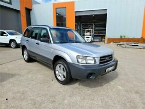 2005 Subaru Forester 79V MY05 X AWD Silver 4 Speed Automatic Wagon Cardiff Lake Macquarie Area Preview