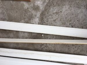 White Baseboards and Trim -$40