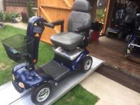Any Terrain 21 Stone Capacity Sterling Emerald Sport Mobility Scooter Anti Theft Alarm Was £2800