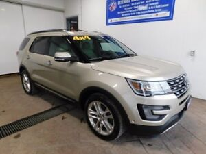 2017 Ford Explorer Limited LEATHER NAVI SUNROOF