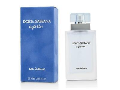 Dolce & Gabbana Light Blue Eau Intense Women EDP Spray 0.84 Oz /25 Ml New Sealed