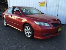 2006 Toyota Camry ACV40R Sportivo Red 4 Speed Automatic Sedan Macquarie Hills Lake Macquarie Area Preview