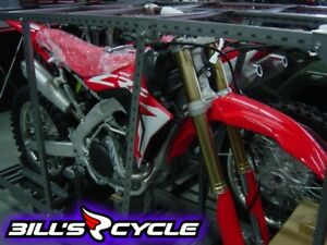 2017 HONDA Competition CRF 450 RXH   RX Electric Start Red