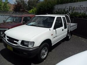 1998 Holden Rodeo TF R9 LX White Manual Utility Mudgee Mudgee Area Preview