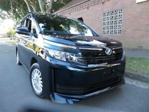 2014 Toyota Voxy Hybrid 2014 Hybrid Electric Drive 7 Seater Black Automatic Concord Canada Bay Area Preview