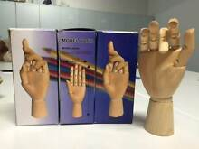 4 x Wooden Manicin Hand Models Glendenning Blacktown Area Preview