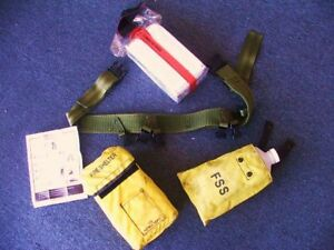 Fire Shelter with Wildland belt pack 3 pieces set