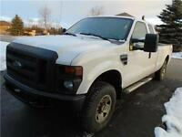 2008 Ford F250 pickup truck,4x4, 4 doors, towing package, 8F Box