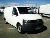 Volkswagen Transporter T30 LWB TDI 102PS VAN DIESEL MANUAL WHITE (2013)