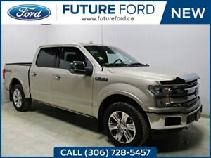 2018 FORD F-150 LARIAT-HEATED REAR SEATS AND STEERING WHEEL