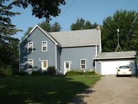 Beautiful home on this hobby farm!  An easy drive to Brockville!