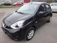 LHD 2015 Nissan Micra 1.2 5 Door UK REGISTERED