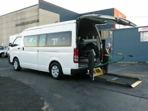 2007 Toyota Hiace TRH223R MY07 Commuter White 4 Speed Automatic Bus Condell Park Bankstown Area Preview