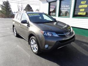 2015 Toyota RAV4 Limited for only $218 bi-weekly all in!