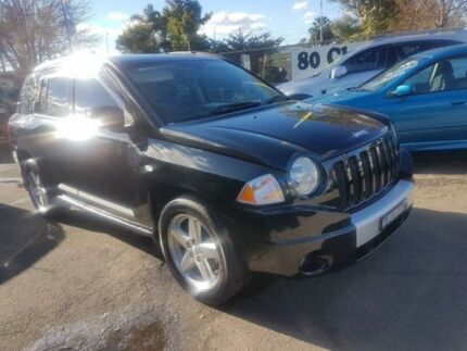 2008 Jeep Compass MK Limited Black Continuous Variable Wagon