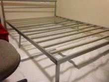 double bed base metal Elanora Heights Pittwater Area Preview