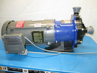 Iwaki MX-251AE6 Mag-Drive, Pump, 3450 RPM, Baldor CC546712 Motor, RS1277