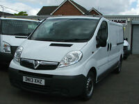 Vauxhall Vivaro 2.0CDTi ( 115ps ) ( EU V ) 2012MY 2900 LWB White Diesel Van