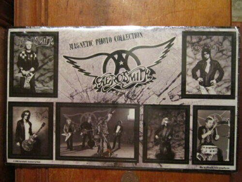 Aerosmith Magnetic Photo Collection Steven Tyler Joe Perry Band Photo Prints NEW