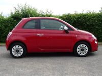 FIAT 500 1.2 COLOUR THERAPY 3d (red) 2013