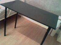 Like New Argos Black Carly Office Desk