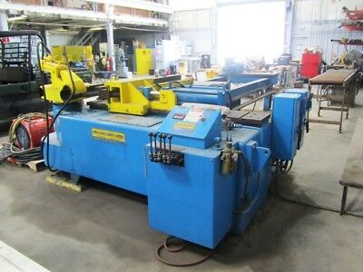 Wallace Coast Model 1004 Hydraulic 4 Sch 80 Pipe Tube Bender