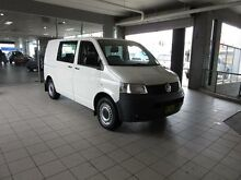 2009 Volkswagen Transporter T5 MY08 (SWB) Candy White 6 Speed Tiptronic Van Thornleigh Hornsby Area Preview