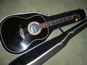GUITARE ÉLECTRO-ACOUSTIQUE OVATION LEGEND 1717 MADE  USA