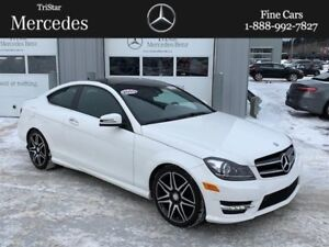 2015 Mercedes Benz C-Class Coupe RARE!!! Certfied!!!
