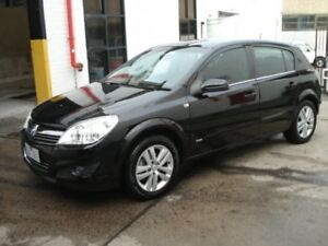 2008 Holden Astra AH MY08 CDX Black 4 Speed Automatic Hatchback