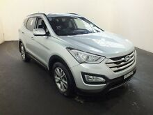 2013 Hyundai Santa Fe DM Elite CRDi (4x4) Silver 6 Speed Automatic Wagon Clemton Park Canterbury Area Preview