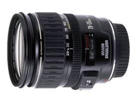 canon ef 28-135mm is lens