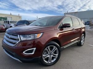 2016 FORD EDGE TITANIUM AWD BACK-UP CAMERA LEATHER INTERIOR