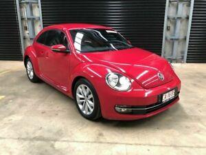 2013 Volkswagen Beetle Red 5 Speed Auto Active Select Sedan Winnellie Darwin City Preview