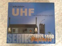 UHF wireless microphone system