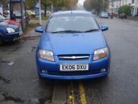 Chevrolet KALOS 1.4 SX 3dr, 2006 model, Full MOT, low mileage