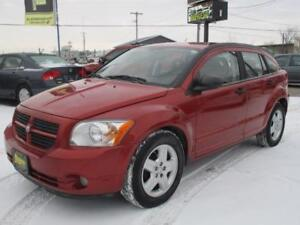 2008 DODGE CALIBER SXT, HAS SAFETY AND WARRANTY $5,950